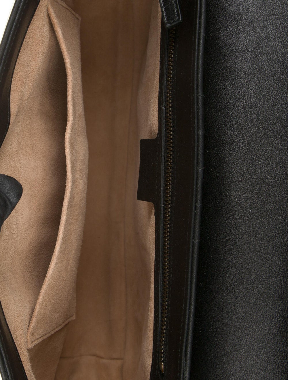 Gucci Bamboo Leopard Top Handle Bag Black - image 6