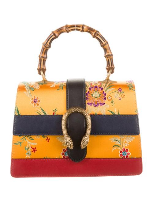 Gucci Dionysus Bamboo Top Shoulder Bag Blue