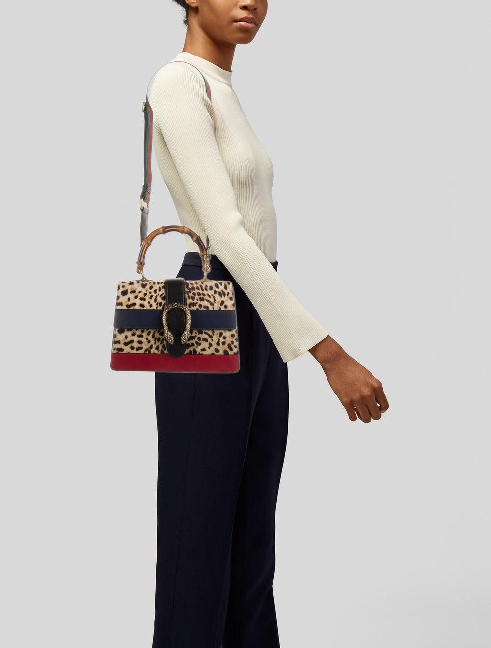 Gucci Dionysus Bamboo Top Handle Bag Gold - image 2