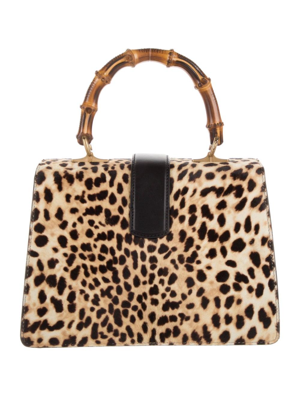 Gucci Dionysus Bamboo Top Handle Bag Gold - image 4