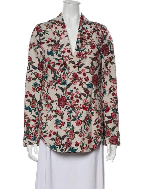 Gucci Floral Print Blazer w/ Tags