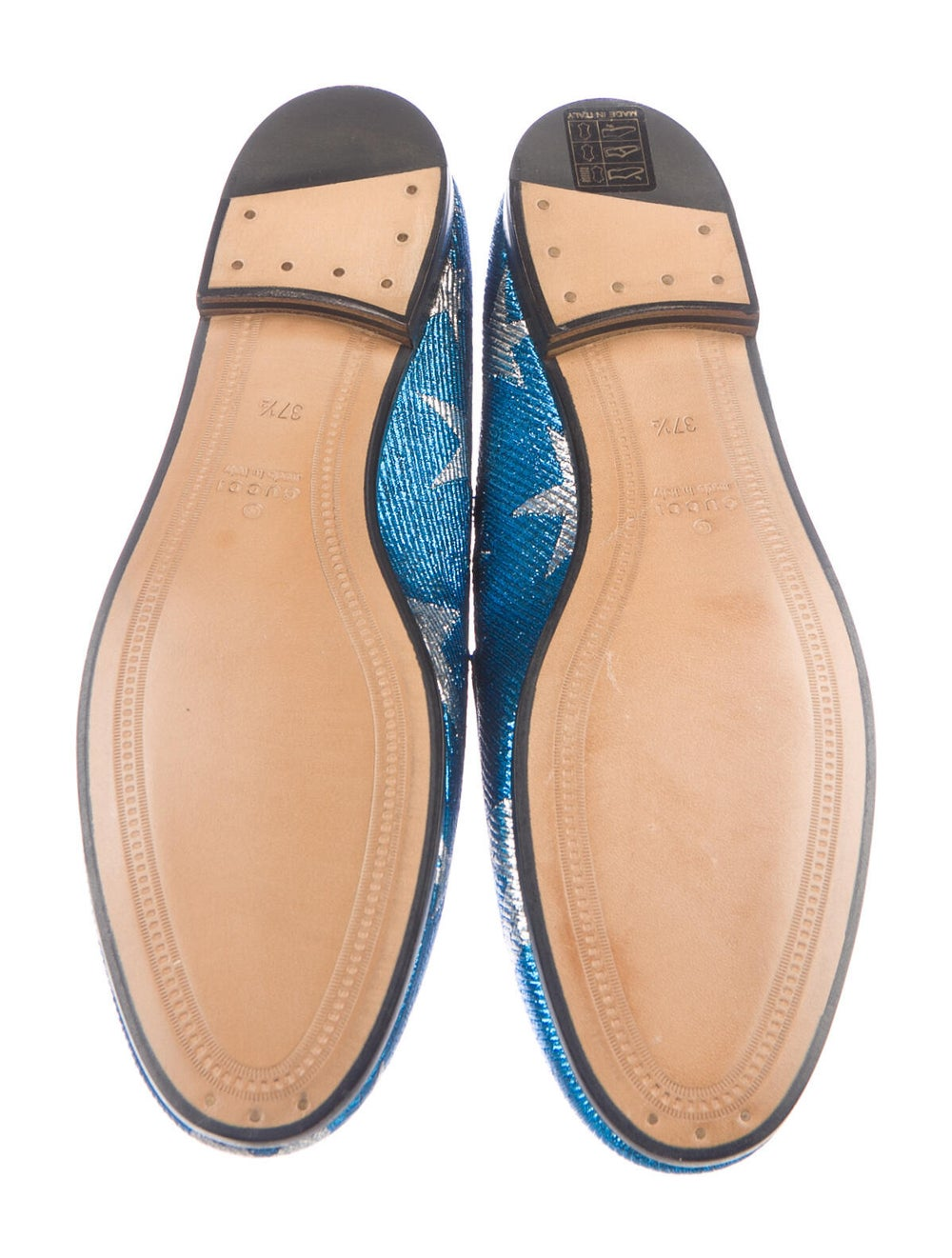 Gucci Horsebit Accent Patterned Loafers w/ Tags B… - image 5