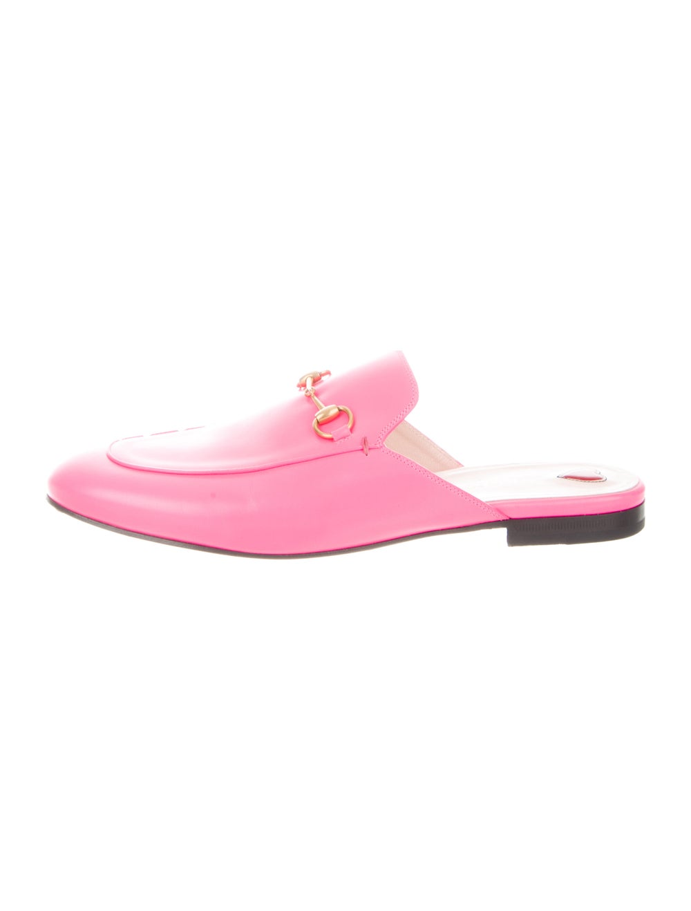 Gucci Princetown Horsebit Accent Mules Pink - image 1