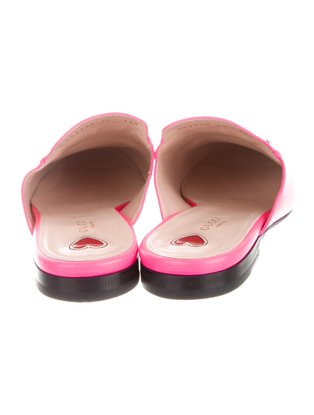 Gucci Princetown Horsebit Accent Mules Pink - image 4