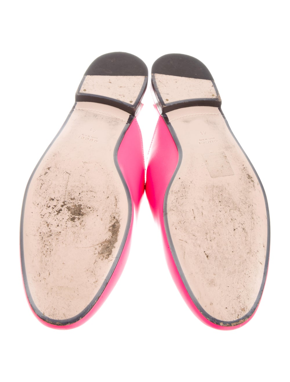 Gucci Princetown Horsebit Accent Mules Pink - image 5