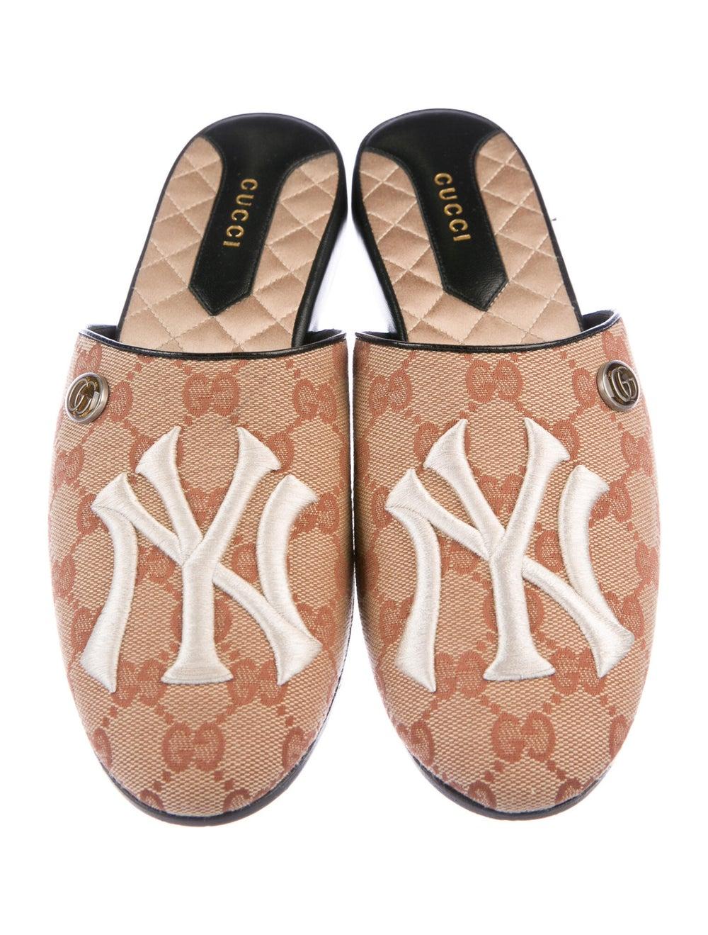 Gucci NY Yankees GG Canvas Mules - image 3