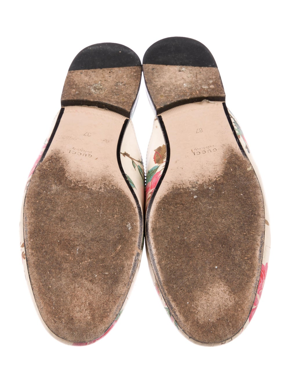 Gucci Princetown Floral Mules Leather Mules - image 5