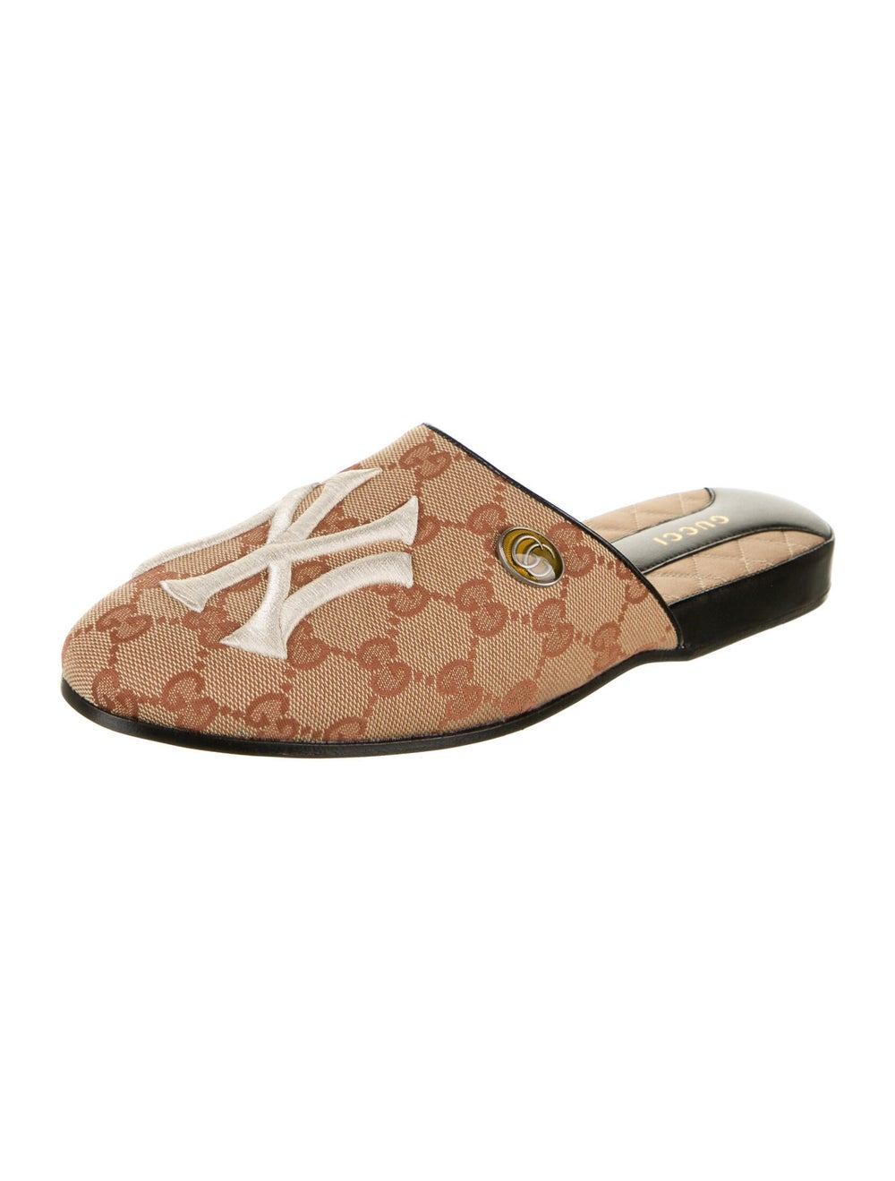 Gucci NY Yankees GG Canvas Mules w/ Tags - image 2