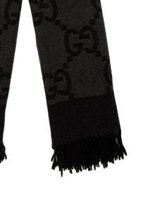 Gucci Wool Interlocking G Logo Shawl
