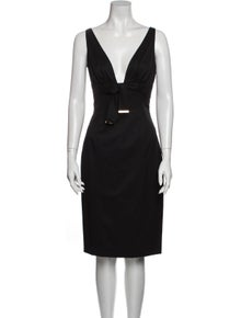 Gucci Vintage Knee-Length Dress