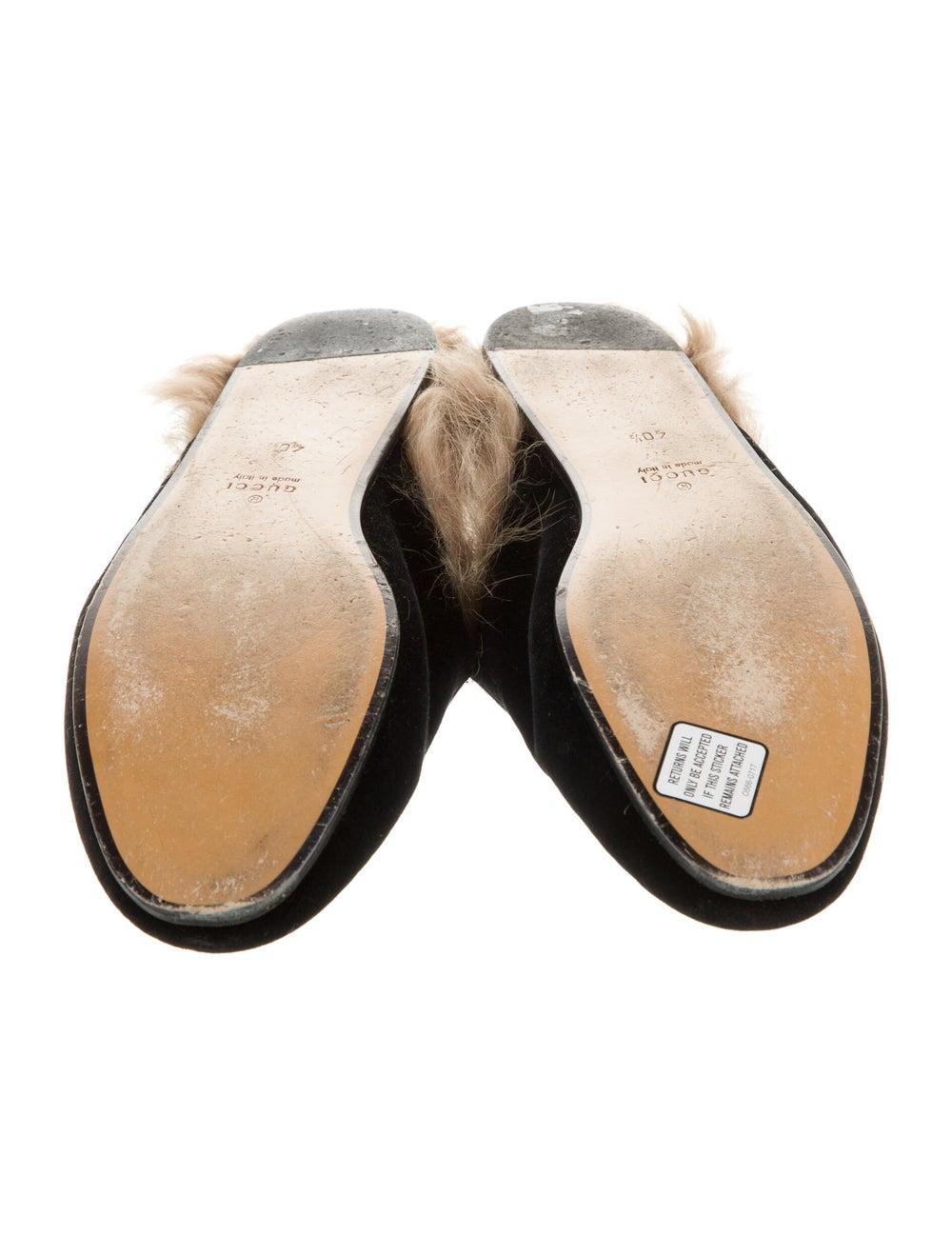 Gucci Princetown Horsebit Accent Mules Black - image 4