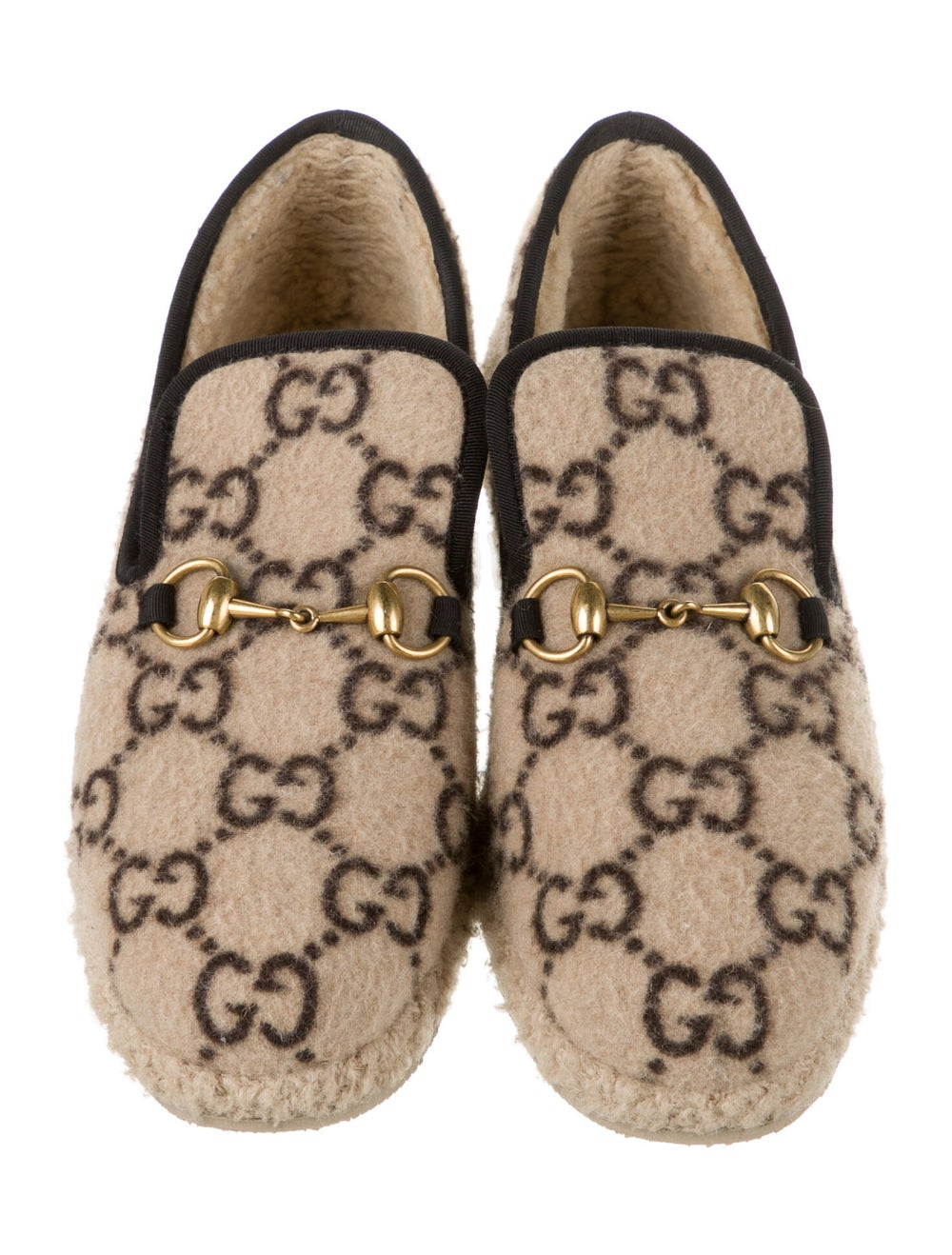 Gucci 1955 Horsebit Accent Slippers - image 3