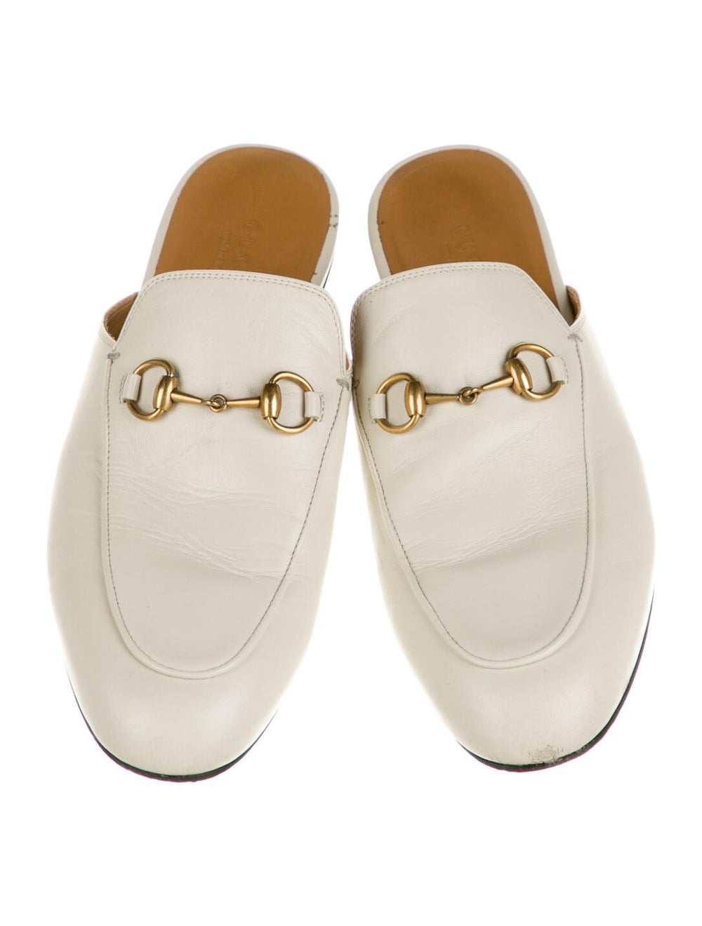 Gucci Horsebit Accent Leather Mules - image 3