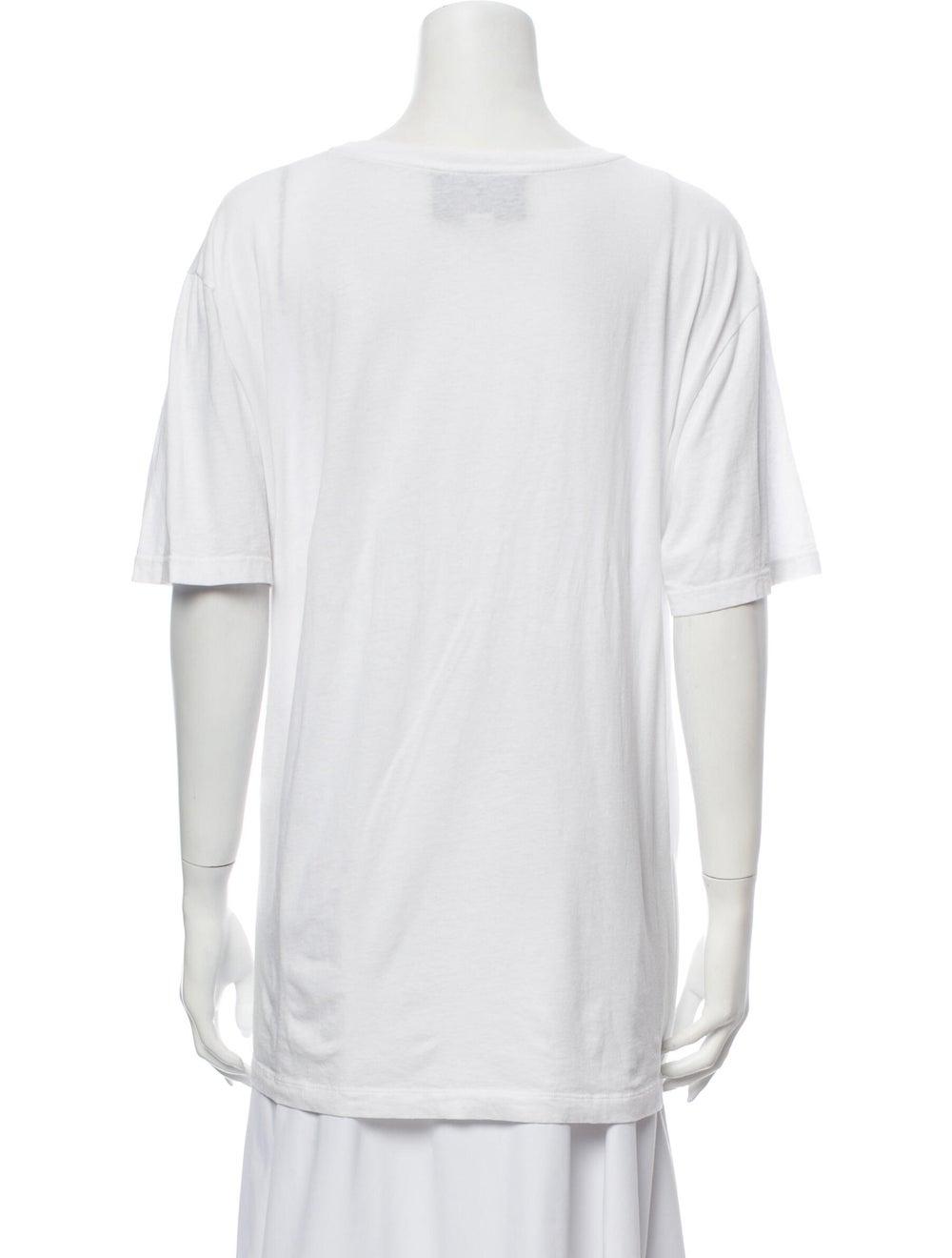 Gucci 2018 Oversize Vintage Logo T-Shirt White - image 3