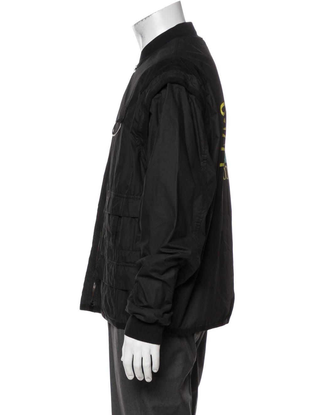 Gucci 2019 Bomber Jacket Black - image 2