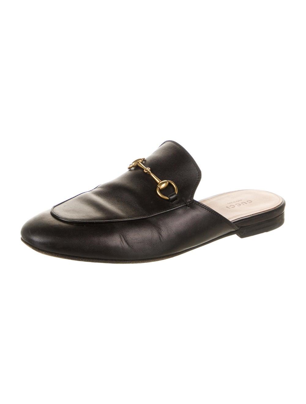 Gucci Princetown Horsebit Accent Mules Black - image 2