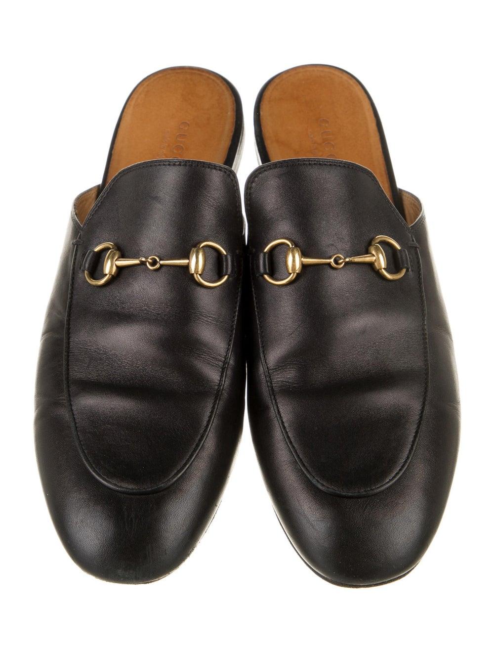 Gucci Princetown Horsebit Accent Mules Black - image 3