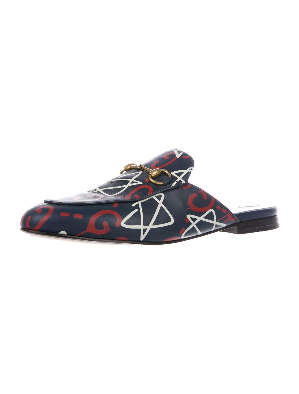 Gucci GucciGhost Princetown Horsebit Accent Mules… - image 2