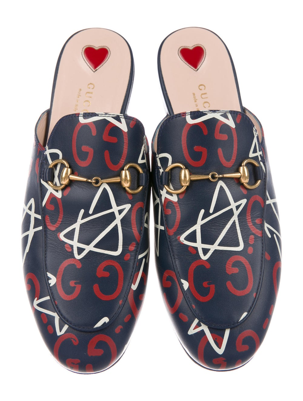 Gucci GucciGhost Princetown Horsebit Accent Mules… - image 3