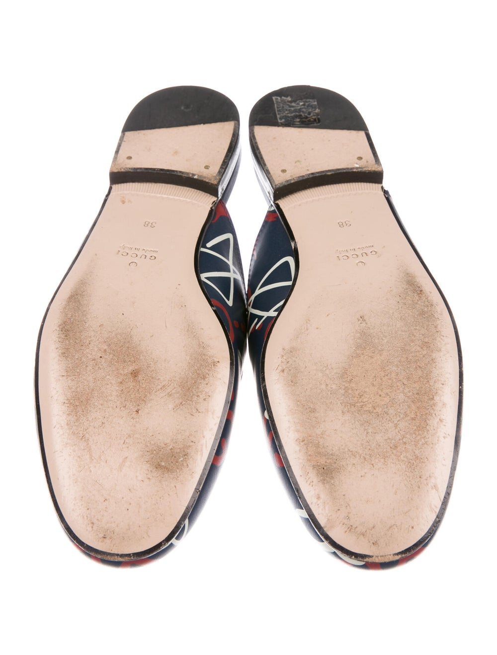 Gucci GucciGhost Princetown Horsebit Accent Mules… - image 5