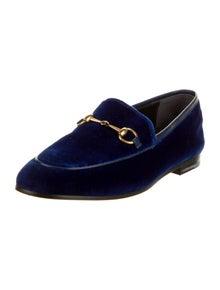 Gucci Horsebit Accent Loafers