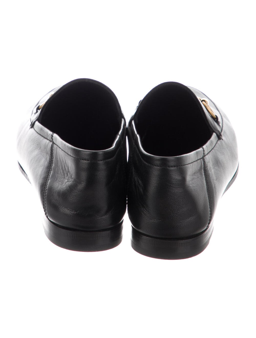 Gucci Horsebit Accent Leather Loafers Black - image 4