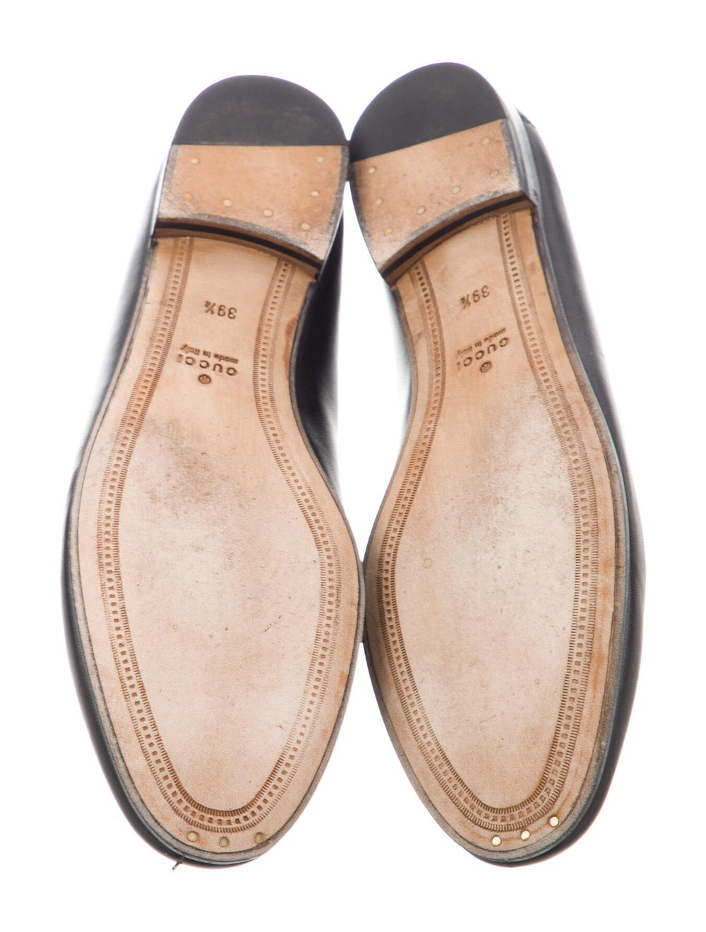 Gucci Horsebit Accent Leather Loafers Black - image 5