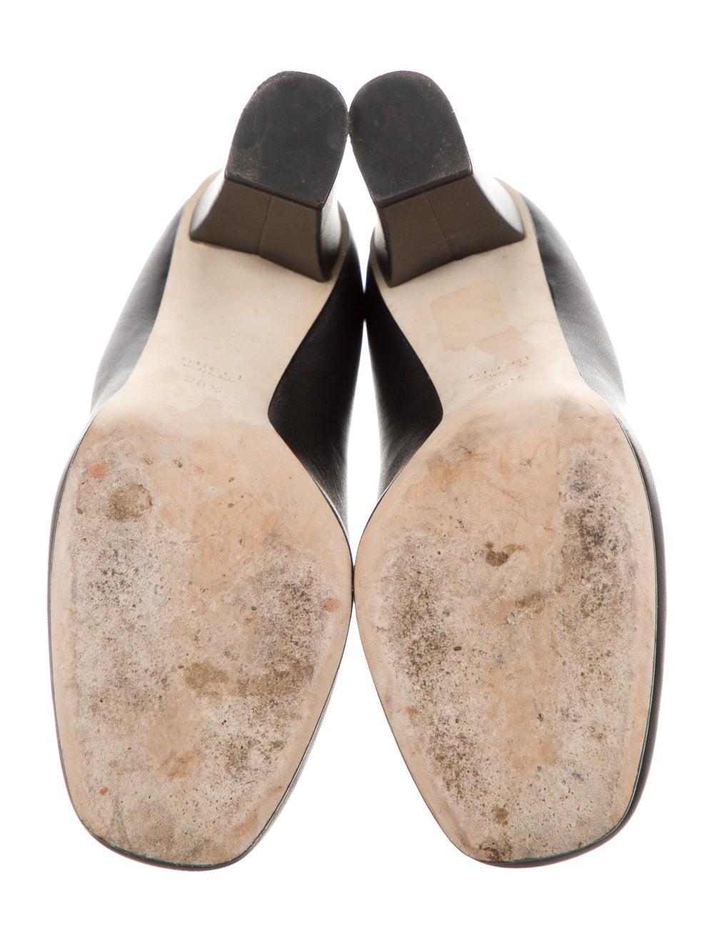 Gucci Horsebit Accent Leather Pumps Black - image 5