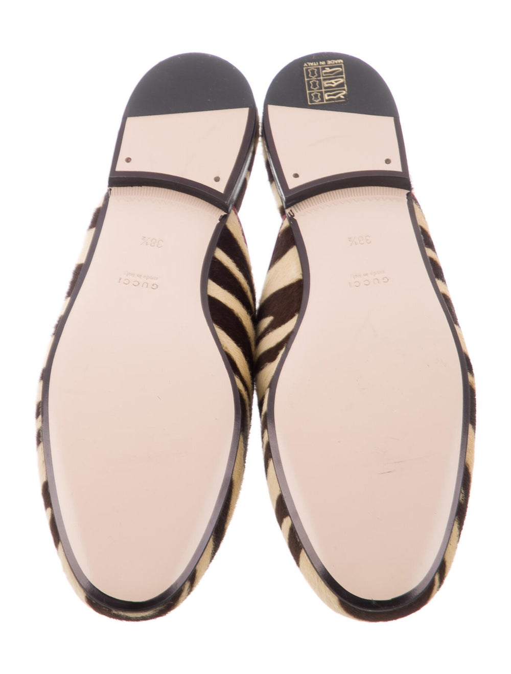 Gucci Princetown Horsebit Accent Mules Yellow - image 5