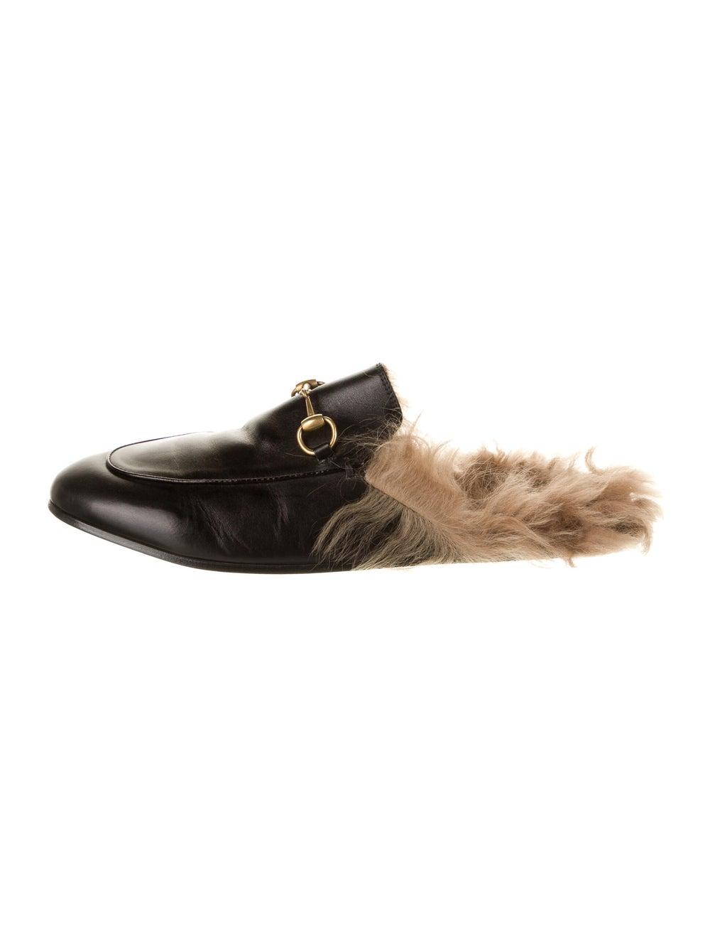 Gucci Princetown Horsebit Accent Mules Black - image 1