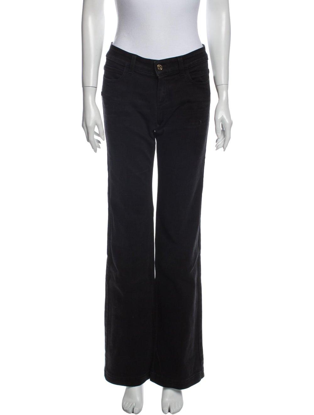 Gucci 70's Wide Leg Jeans Black - image 1