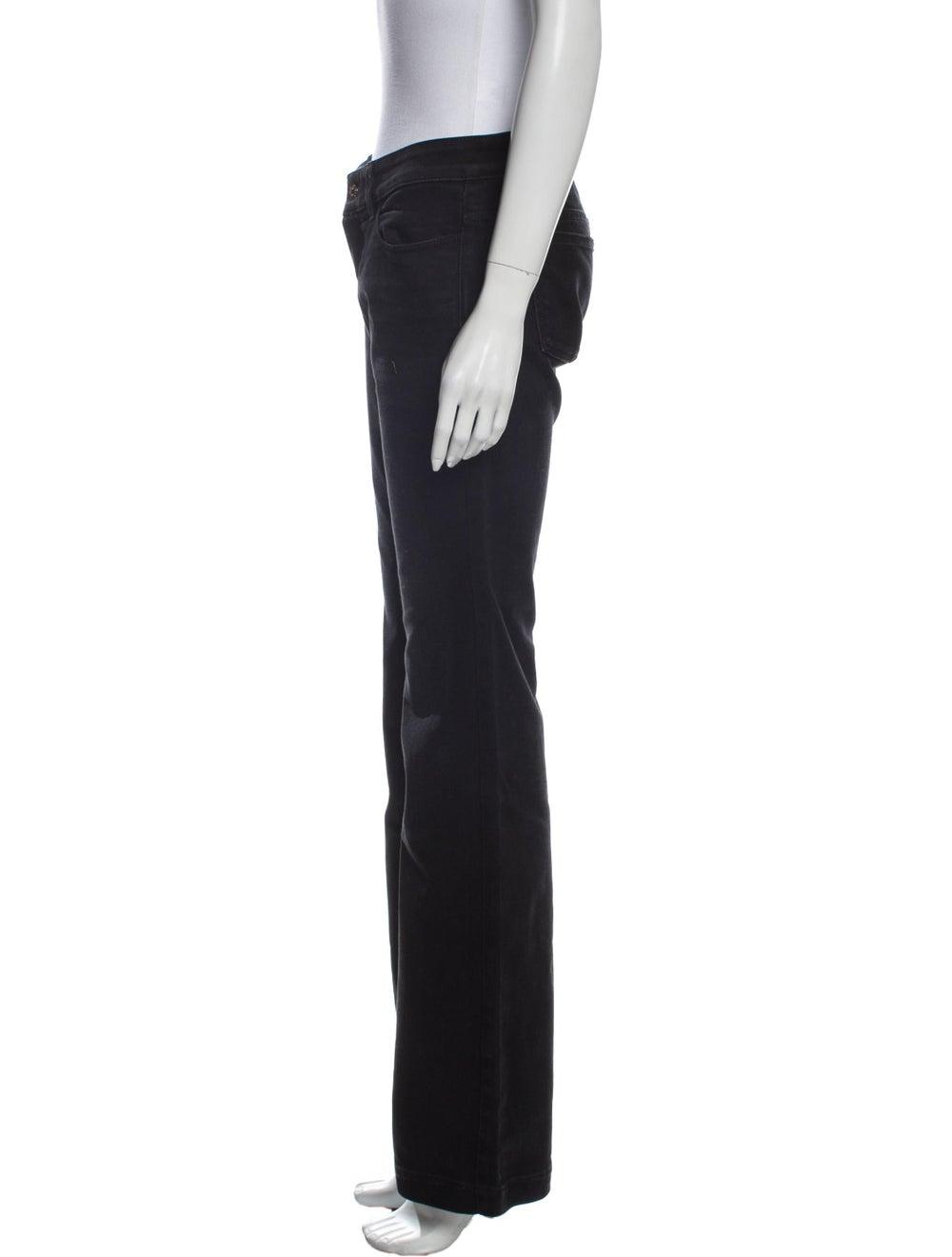 Gucci 70's Wide Leg Jeans Black - image 2