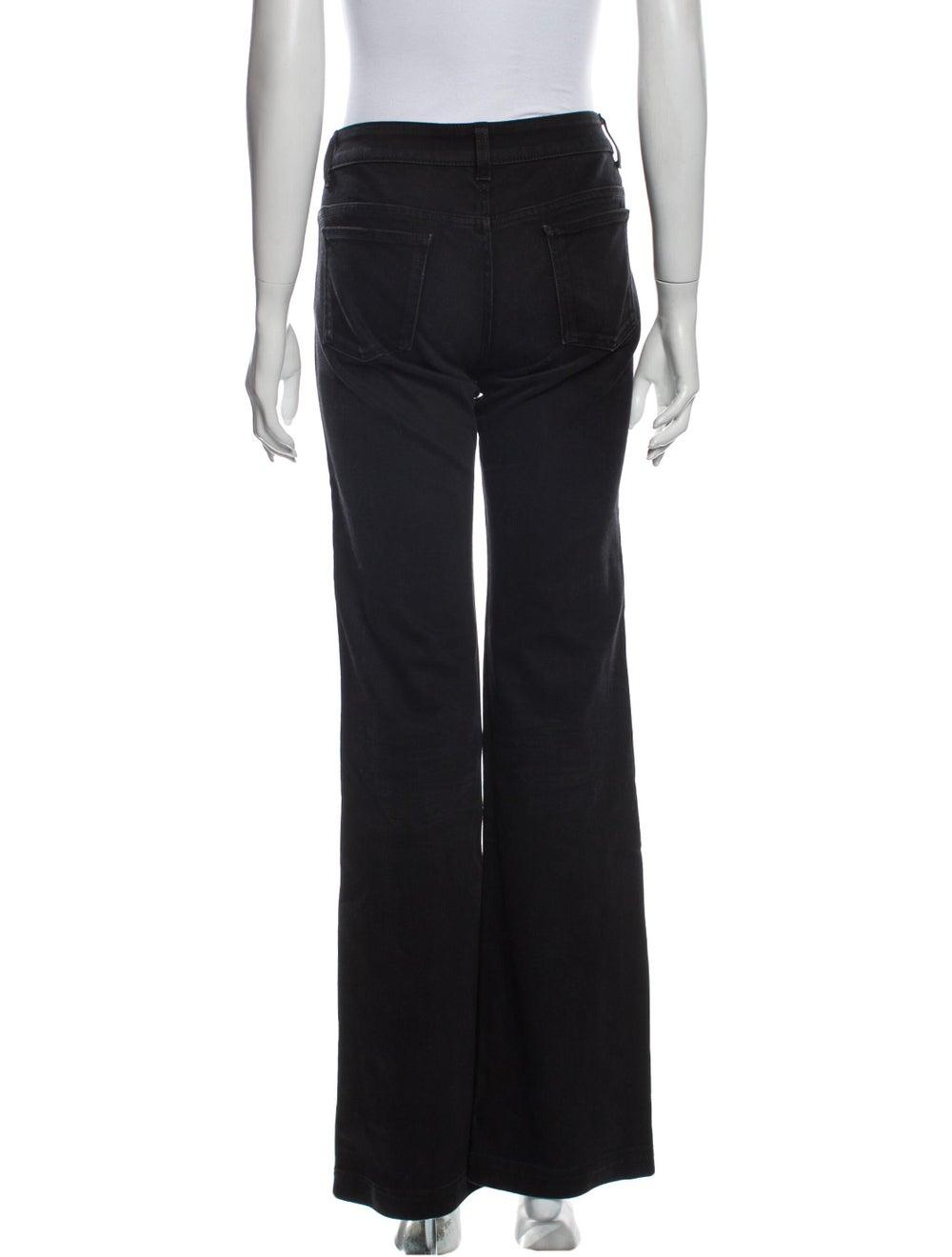 Gucci 70's Wide Leg Jeans Black - image 3