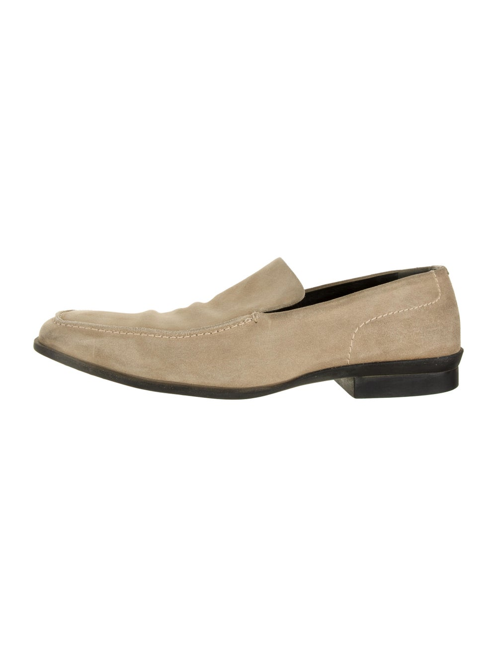 Gucci Suede Dress Loafers - image 1