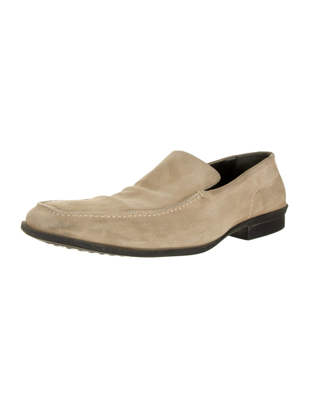 Gucci Suede Dress Loafers - image 2