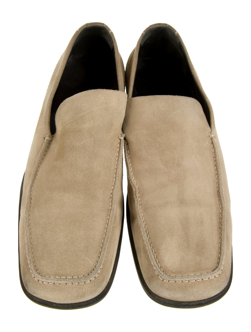Gucci Suede Dress Loafers - image 3