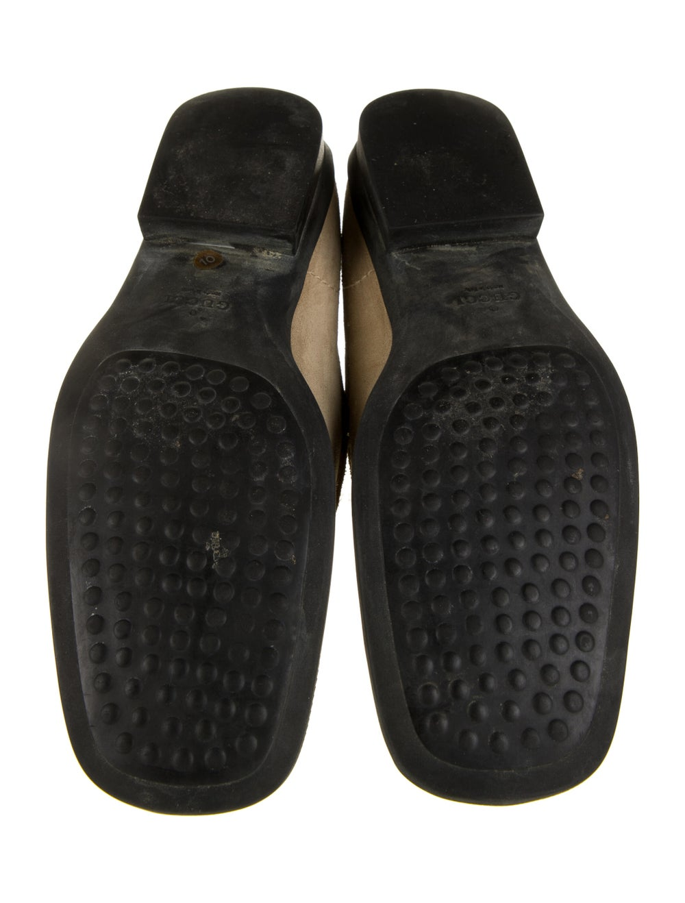 Gucci Suede Dress Loafers - image 5