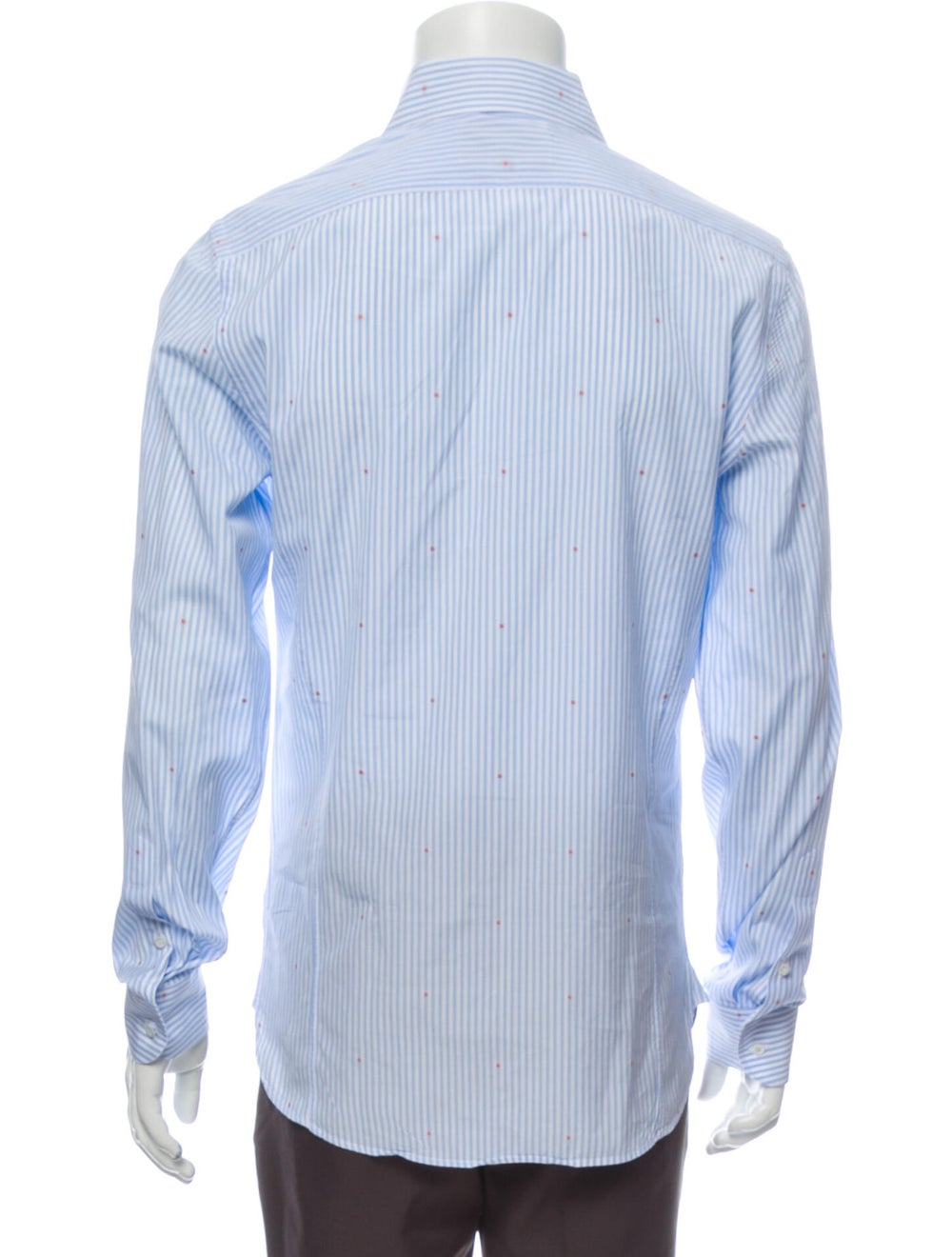 Gucci 2018 Striped Shirt Blue - image 3