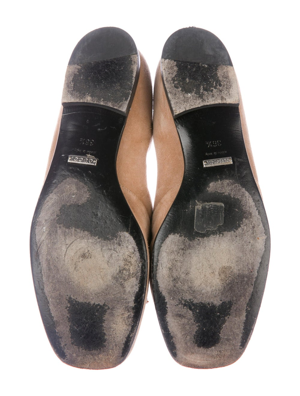 Gucci Horsebit Accent Suede Loafers - image 5