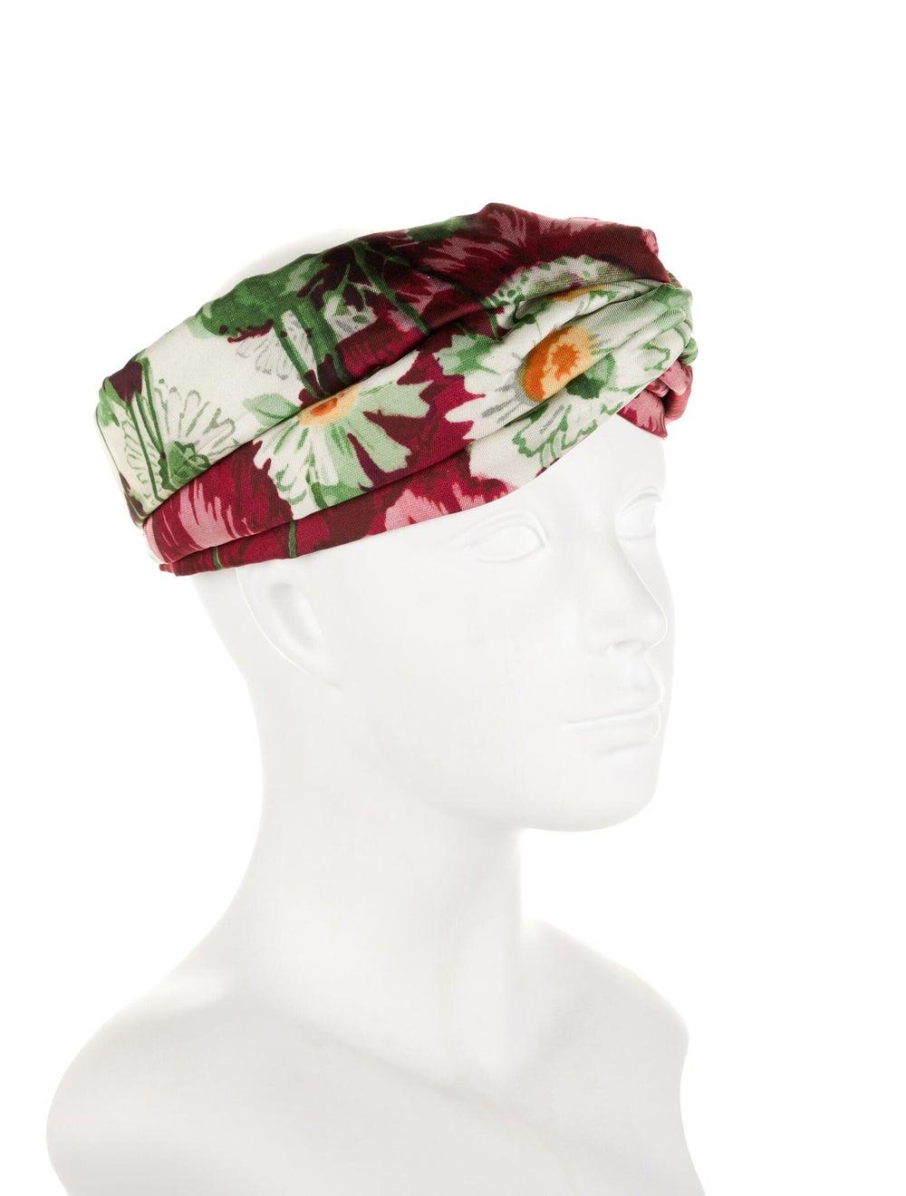 Gucci Silk Floral Headband multicolor - image 3