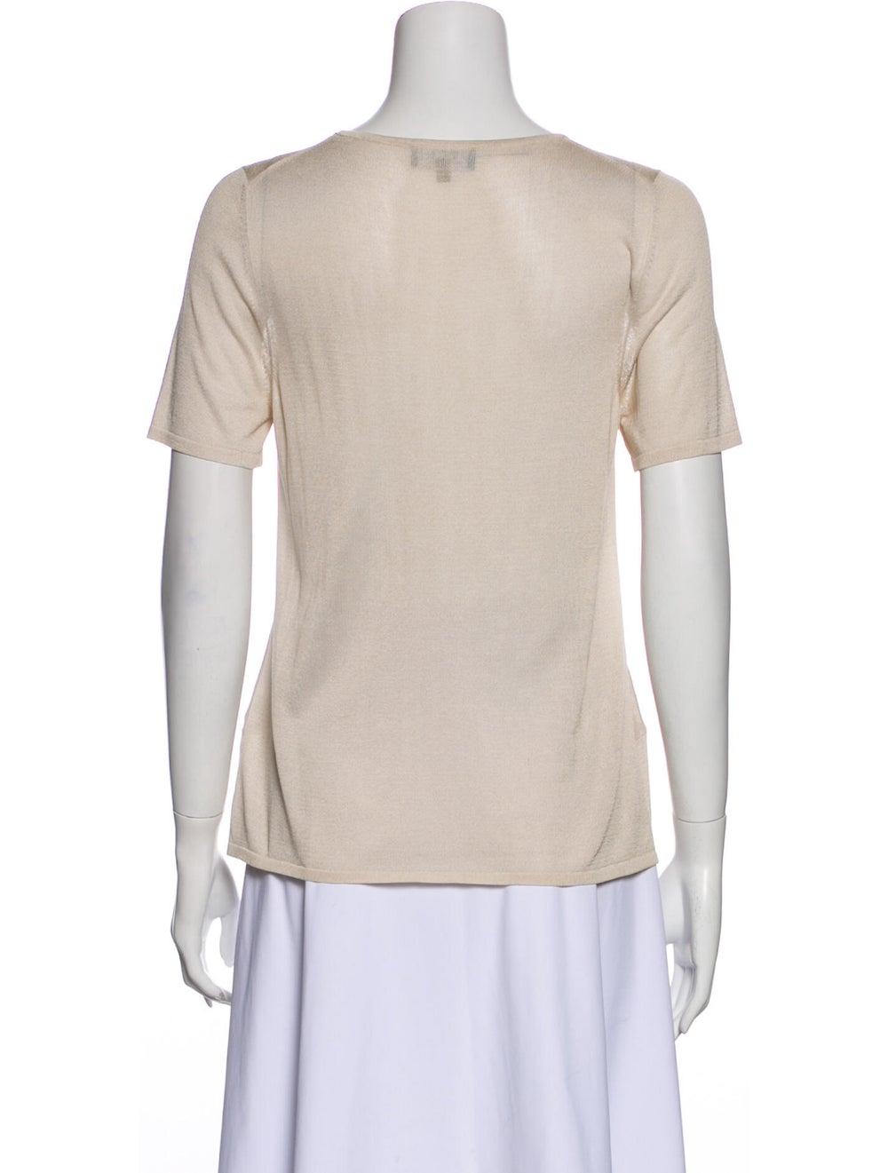 Gucci Vintage Silk T-Shirt - image 3