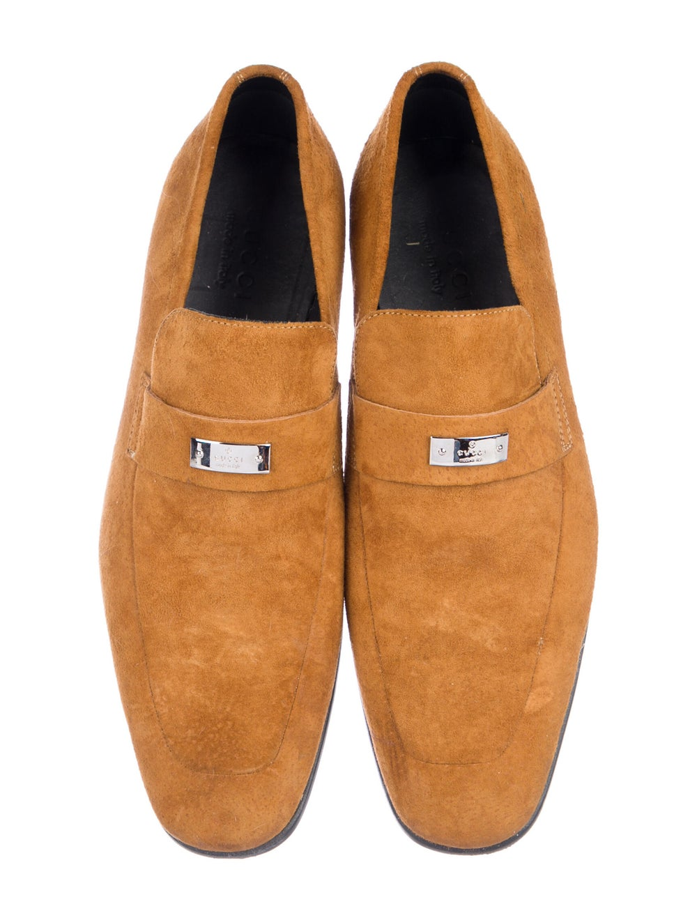 Gucci Suede Loafers Yellow - image 3