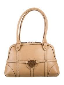Gucci Reins Leather Shoulder Bag