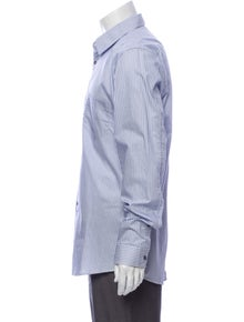 Gucci Striped Long Sleeve Dress Shirt