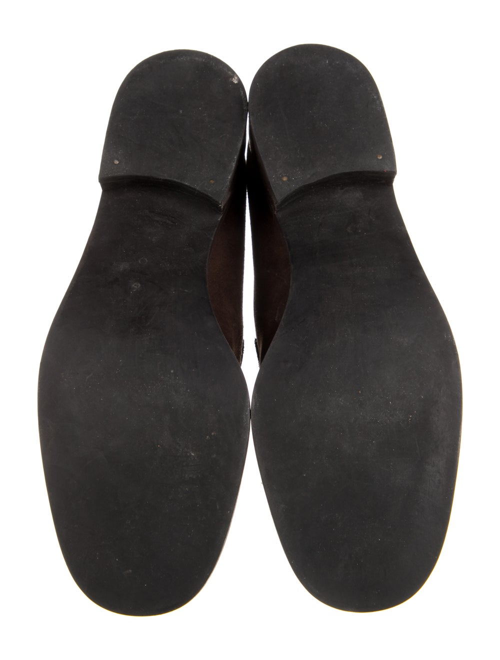 Gucci Suede Loafers Brown - image 5