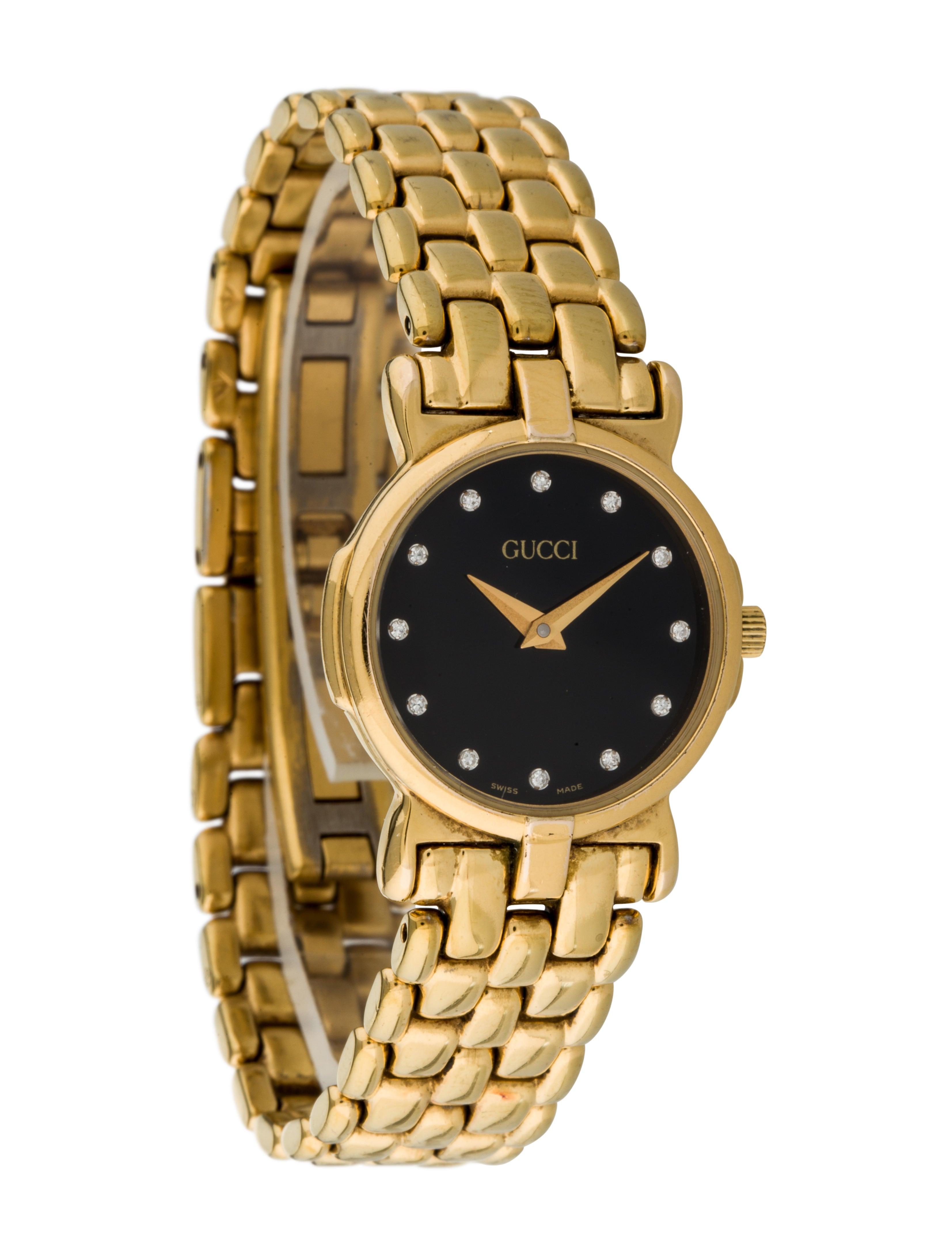 7bbe9d6c11d Gucci 3400L Diamond Watch - Bracelet - GUC70194