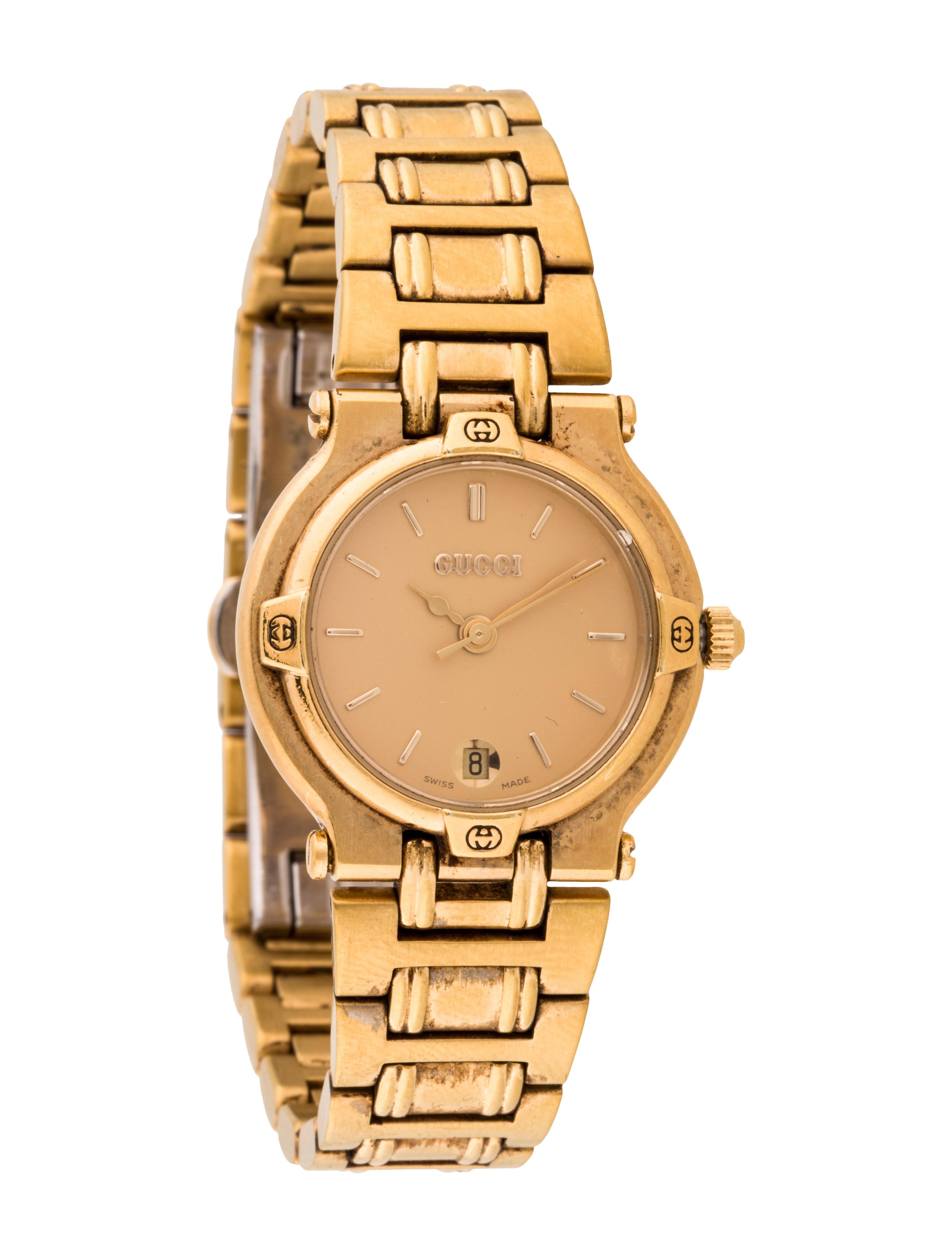 7899c0be4e2 Gucci 9200L Watch - Bracelet - GUC70474