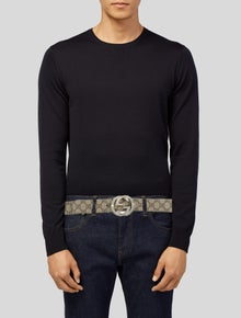 Gucci GG Supreme Coated Canvas Waist Belt