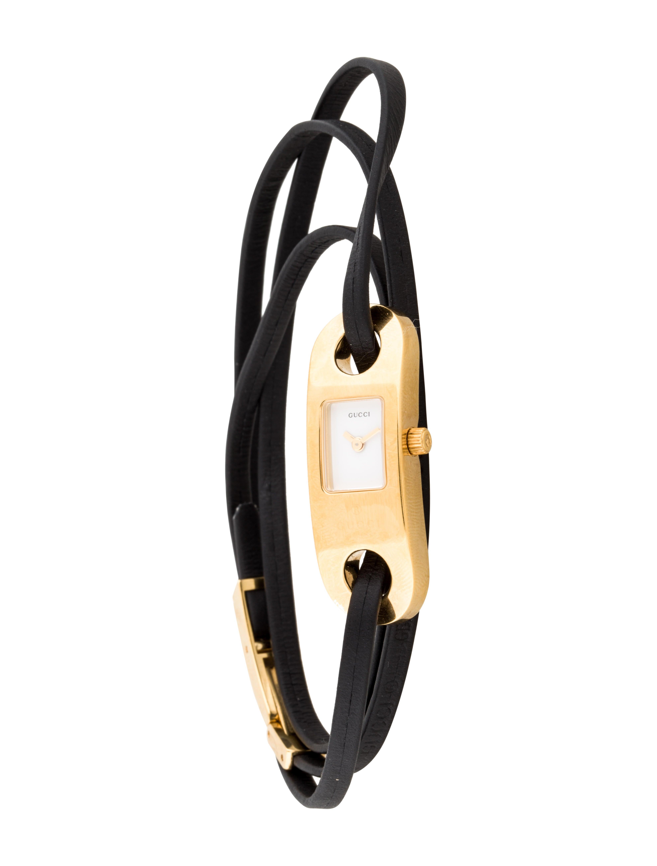9e9c3f498b7 Gucci 6100L Watch - Strap - GUC70790