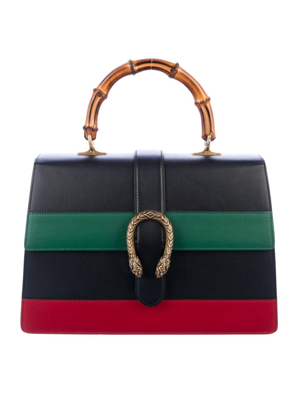 Gucci Large Dionysus Bamboo Handle Bag Black - image 1